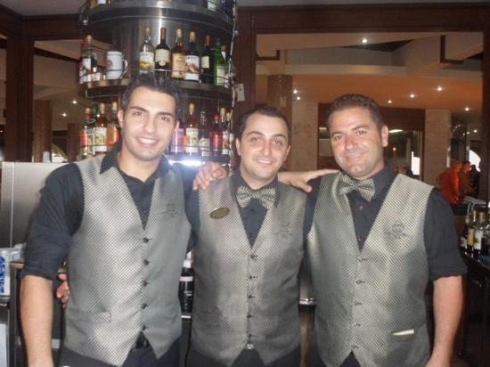 Kalithea Horizon Royal: barmen!