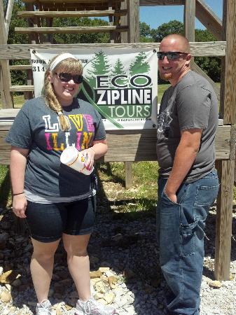 Eco Zipline Tours: Before we started! =)