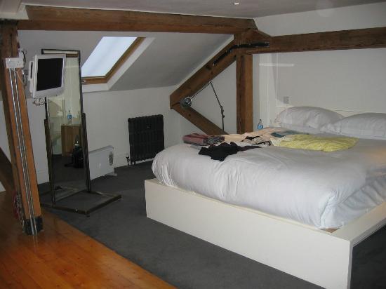 Kelly's Hotel Dublin: loft bedroom