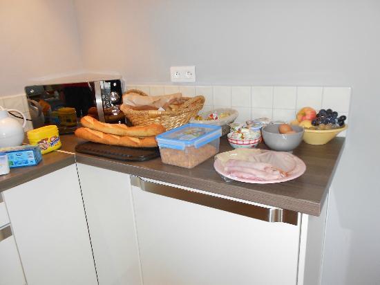 Mas Guiraud: vers ontbijt