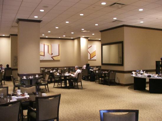Hyatt Morristown: DINING AREA