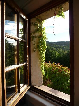 Hotel Le Mas des Collines: Vackert fönster
