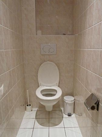 Hotel Royal Lutetia : Triple room's separate toilet.