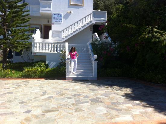 Villa Irini: Hotel's enterance
