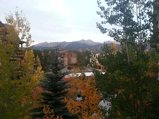 ‪‪Hyatt Residence Club Breckenridge, Main Street Station‬: View from our balcony sliding door