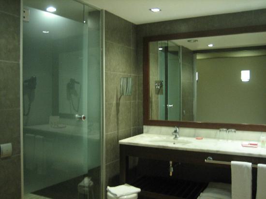 Magnolia Hotel: baño