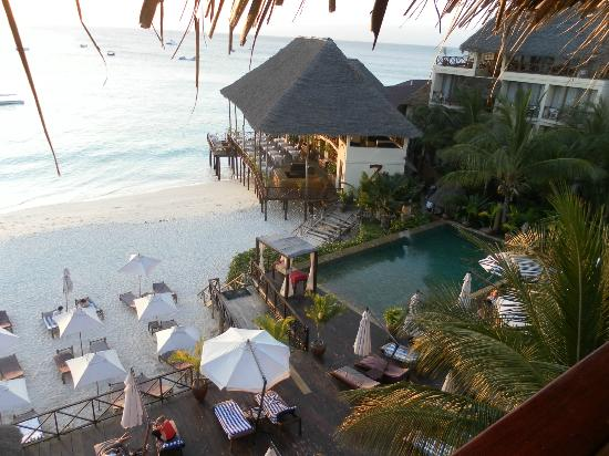 The Z Hotel Zanzibar : View from our suite