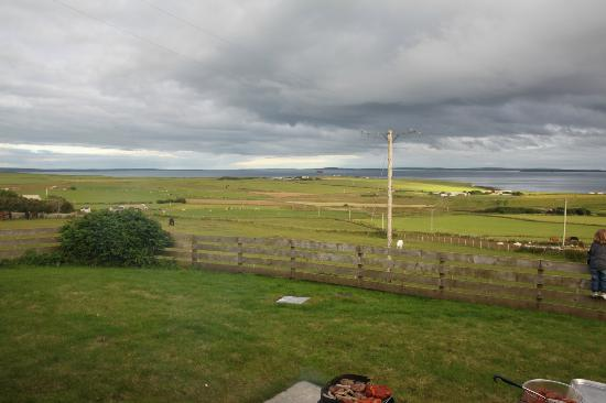 Scapa Flow Lodges: View from patio