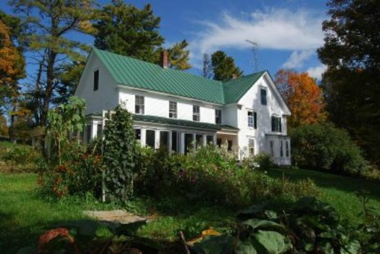Pie-in-the-Sky Farm Bed & Breakfast: House in early foliage by Steve Morris