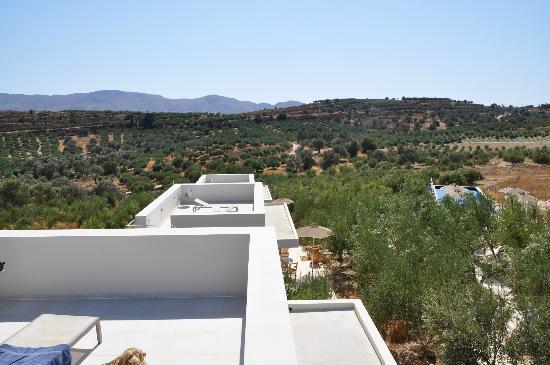 Niriida Guest House: Aussicht von der privaten Terrasse