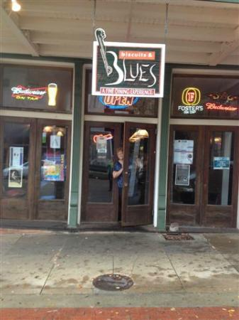 Biscuits & Blues: View from the Street