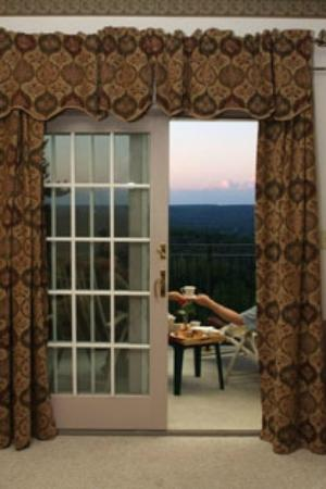 The French Manor Inn and Spa: Private balconies offer stunning views