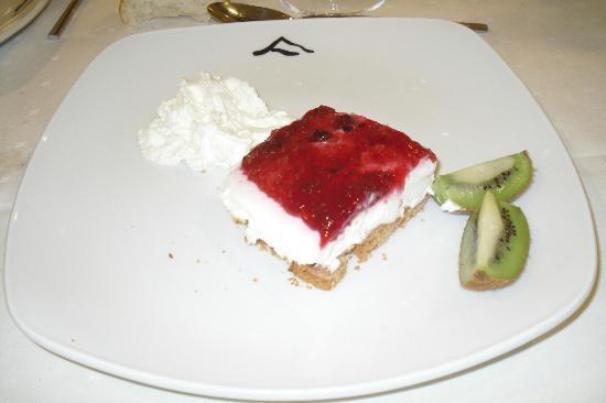 Hotel Jatetxea Santa Ana: Tarta d queso