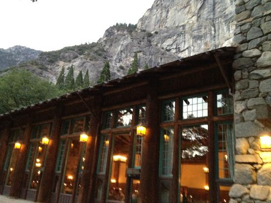 ahwahnee dining room early evening in september - picture of the