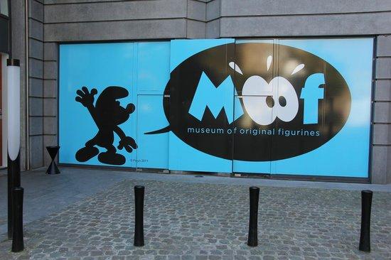 Moof Musée de la Bande dessinée et des Figurines : Ingresso al museo