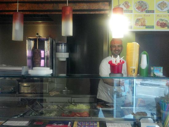Lavena Ponte Tresa, Italy: Il miglior kebab della zona.