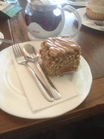 Cafe cocoa: it looks small but the plate was rather large- very very yummy
