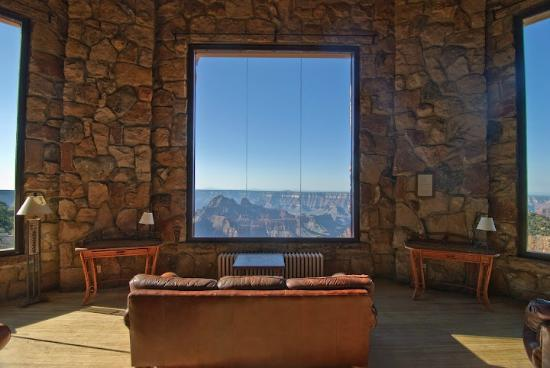 Grand Canyon Lodge - North Rim: View from the lodge lounge