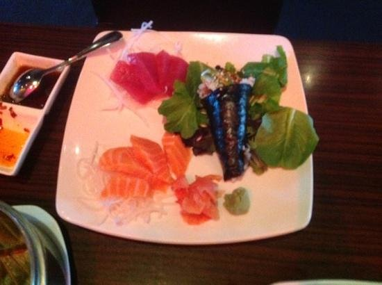 Jimmy Wan's Restaurant and Lounge : Sashimi at Jimmy Wan's