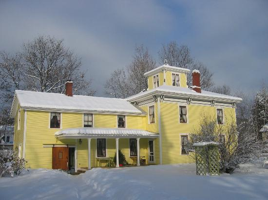 The Woodruff House Bed and Breakfast: Winter's arrival ...