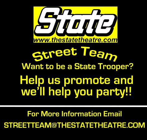 The State Theatre: Be a State Trooper!