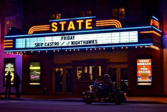 The State Theatre: :)