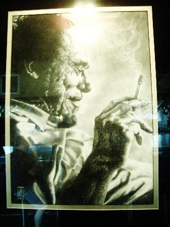 Bukowski's Tavern : this was taken in the lounge
