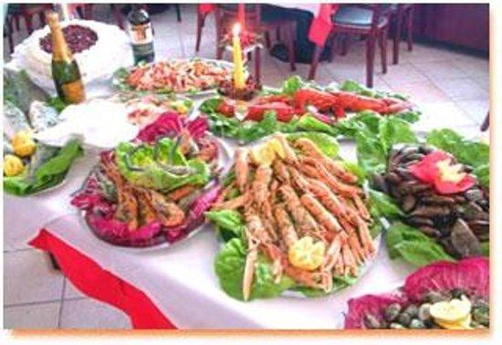 Oleggio, Italie : specialita' pesce