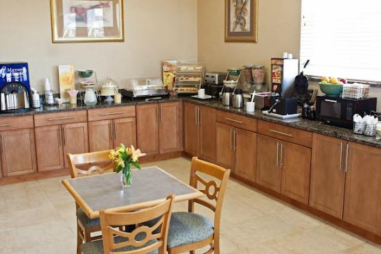 Quality Inn & Suites South/Obetz: Hotel Breakfast