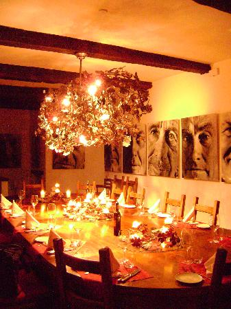 Dievole: Dining room