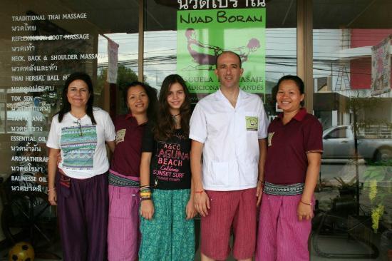 Nuad Boran - Escuela de Masaje Tradicional Tailandes : Escuela de masaje Tailandés, Nuad Boran, en Chiang Mai