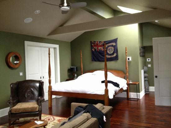 Hudson Merchant House Bedroom