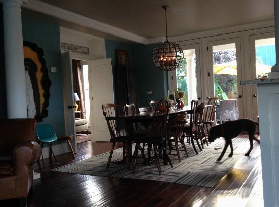 Hudson Merchant House Dining/Breakfast Room