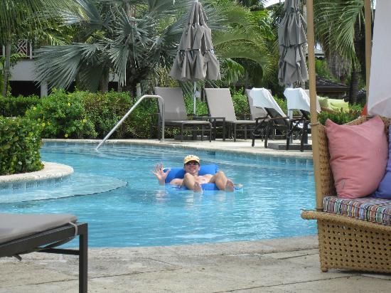 Four Seasons Resort Nevis, West Indies: One of the three pools