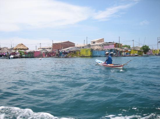 Isla Múcura: pescador
