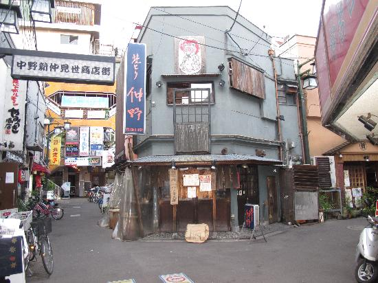 One of the many little streets of Nakano