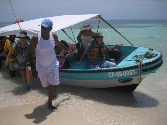 Isla Múcura: vajando de la lancha al paraiso