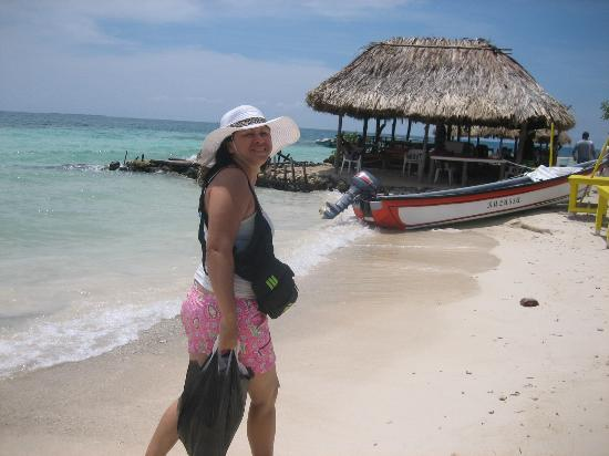 Isla Múcura: dia de playa