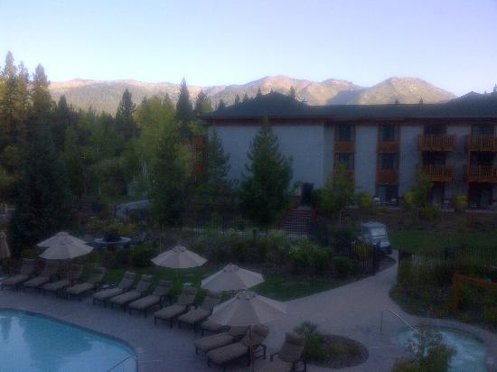 Hotel lobby picture of hyatt regency lake tahoe resort for Hyatt lake cabins