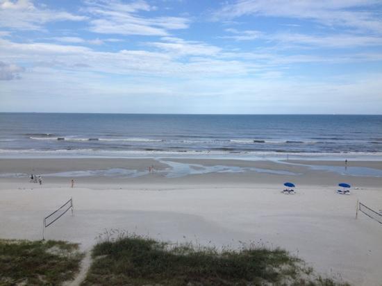 Hampton Inn Jacksonville Beach/Oceanfront: 5th floor ocean front view