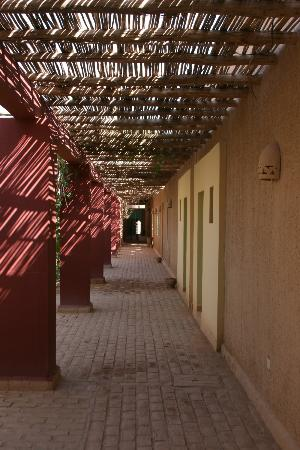 Dar El Janoub: To the rooms.