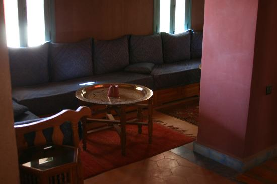 Dar El Janoub: Relax in one of the lounge area and enjoy some Moroccan tea.
