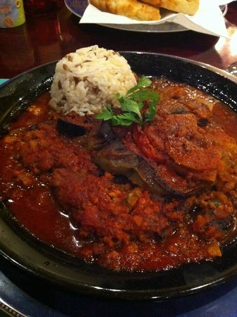 Mekan Istanbul : Eggplant and Minced Meat