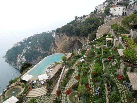 Pool View Picture Of Monastero Santa Rosa Hotel Amp Spa