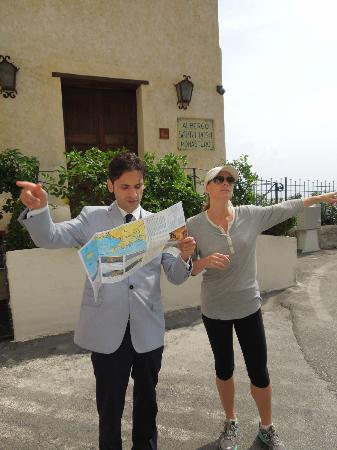Monastero Santa Rosa Hotel & Spa: w/Andrea - determining the optimal hike