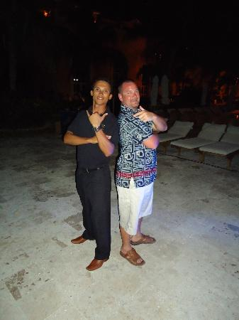 Secrets Capri Riviera Cancun: Jesus and all the event staff were 5-star friendly!