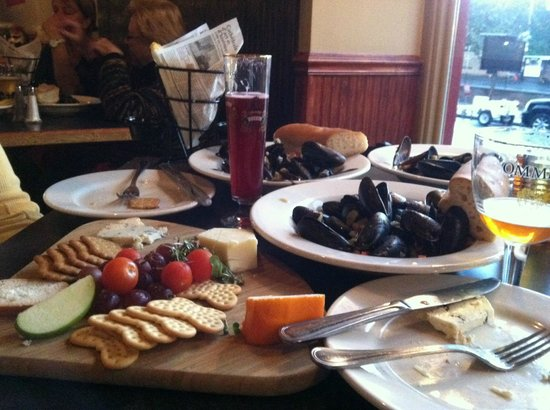 The Merry Monk: A bit of Belgium in downtown Albany...