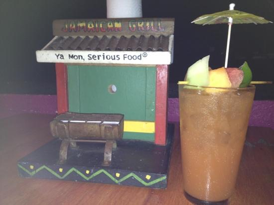 Jamaican Grill Chamorro Village : The great rum drink!