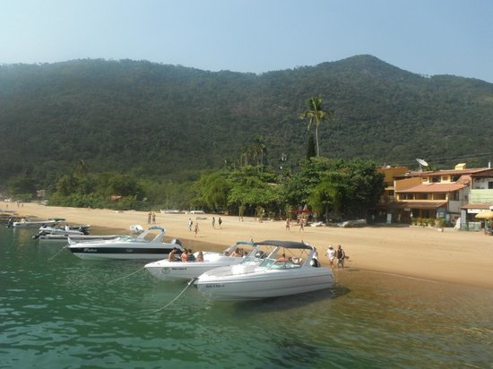 Lagoa Azul: some excursions boats