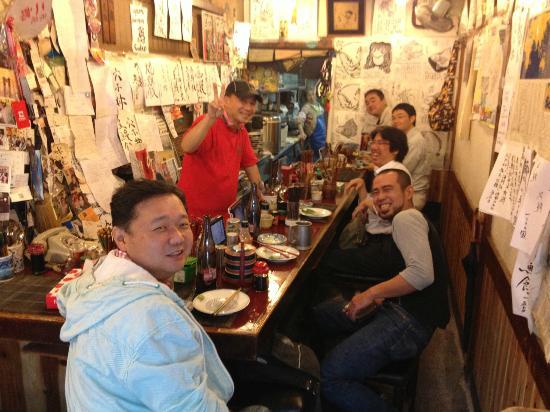 Yonehana: Interior w regulars
